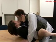 Office Lady Getting Her Pussy Fucked Whil ...