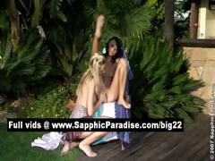 Debby And Aneta Blonde And Brunette Lesbians Licking And Fingering Pussy And Having Lesbian Love