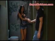 Alektra sex in the bathroom
