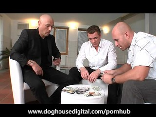Lussy Kirschner Gets Her Teen Ass Fucked by Dad s Friends