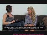 FemaleAgent. Reality TV babe tries porn.