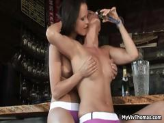 Hot Brunette Whore With Nice Tits Gets Part2