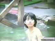 Voyeured Outdoor Bath