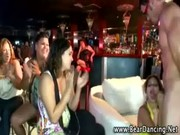 Stripper gets head from nasty cfnm