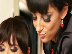 Slutty Euro Glam Lesbian Hotties