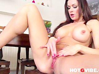 Masturbating Stacy Silver 1