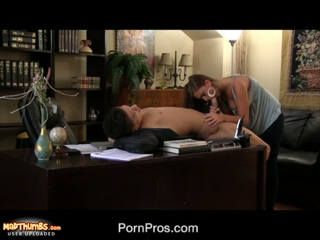Hot Office Girl Whitney Westgate Seducing Her Boss For A Hardcore Sex
