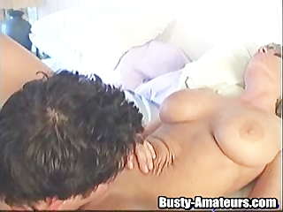 The beautiful big titted Tera goes wild from blowing and fucking