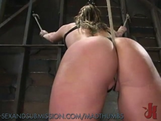 Sexy Slave Enjoys Anal Penetration After Gagging On Her Masters Cock