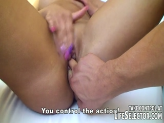 Blonde Chick Anal Fucked And Fingered