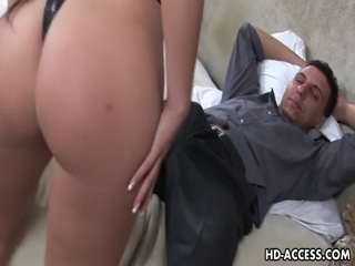 Enchanting Brunette Anna Nova Endures Rough Anal Pounding