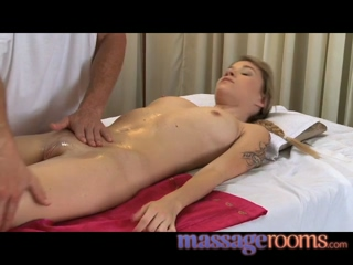 Massage Rooms Teen Beauty Orgasms As She Is Pounded By Hard Cock