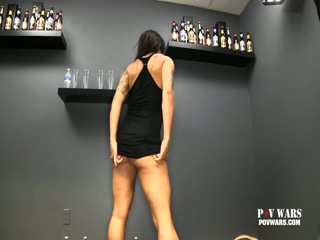 POV Wars Muscle Babe Is Ready For 5 Strangers To Fuck Her