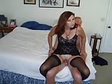 Amateur Swinger MILF Candi Annie Makes a Fuck Vid