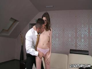 Anna Taylor Rides A Cock