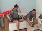 He fucks nasty girlfriends mom from behind
