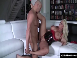 Alura Jenson Is A Blonde MILF With Some Of The Biggest Tits Youll