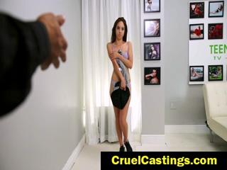 Mila Jade Casting Couch Rough Bondage