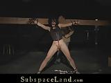 Bdsm badly punishment for slave slut