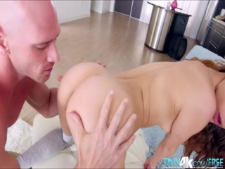 Petite Rebel Lynn in her innocent encounter with a monster cock