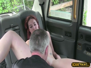 New redhead hot chick gets fucked hard by Scottish cock