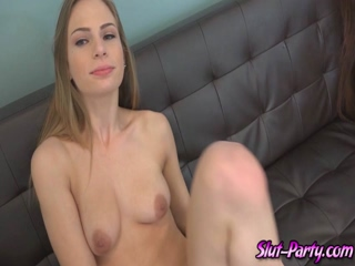 Two sluts moans and screams