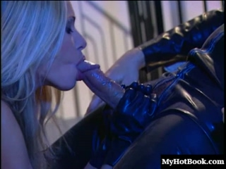 Briana Banks becomes a submissive in the last scene of this epic latex