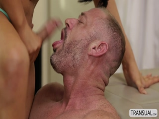 Ts nurse Chanel gives a hearty blowjob