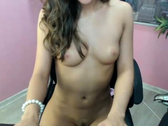 Skinny Solo Teen Masturbate Her Pink Shaved