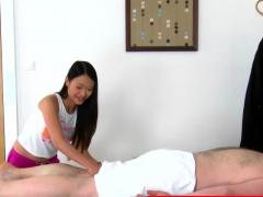 Faketit Asian Masseuse Dickrides Her Client