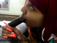 Layla Red XXX Sloppy BJ