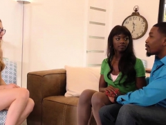 Ana Foxxx And Alexa Grace Share Big Black Cock