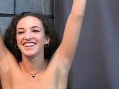 Naked Non-professional Severe Pussy Slavery