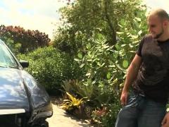 Hard As Rock Weenie Rewards Breasty Floozy With Wild Orgasms