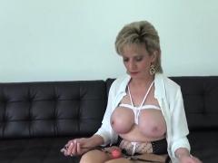 Unfaithful British Mature Lady Sonia Flaunts Her Big Tits60v