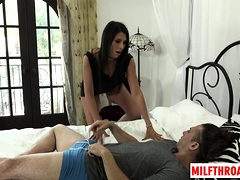 Big Tits Milf Deepthroat With Cumshot