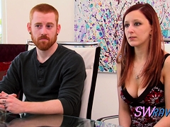 Redhead Couple Discusses The Rules Of Their Relationship