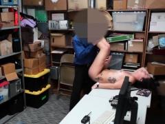 Still Sucking After Cumshot And Big Tit Blonde Police