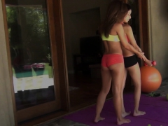 Attractive Babes Lilly And Olivia Get A Sexual Workout