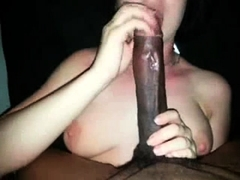Extreme Amateur Pov Blowjob With Brunette Babe