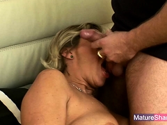 Busty Mature Blonde Fucked Hard