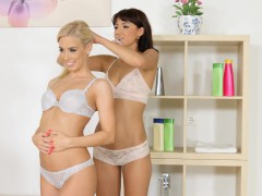 Lesbian Lovemaking By Nesty And Suzy Rainbow On Sapphic