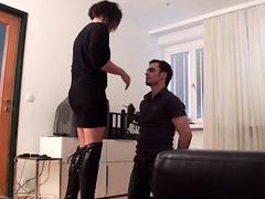 Femdom Ladies Punish Slaves