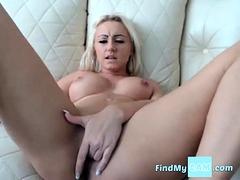 Dutch Blond Girl Pussy Fingering
