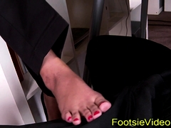 Teens Amazing Feet Jizzed