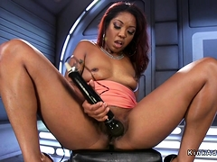Squirting Big Ass Ebony Fucking Machine