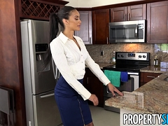 Propertysex Tattooed Latina Gia Vendetti Nailed By Tenant