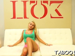 Sizzling Blonde Teen Has Impressive Knob Lovely Skills