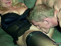 German Big Tits Milf Jenny Fucks With Huge Dick User