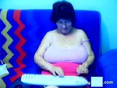 Granny On The Web Cam R20